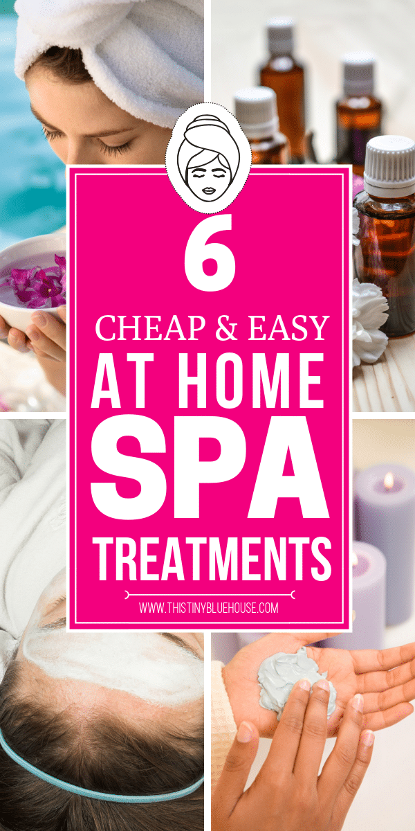Cheap At Home Spa Hacks You Gotta Try! Here's how to stop spending heaps of money when you can pamper yourself at home for a fraction of the cost. Spoil yourself today with these 6 genius at home DIY spa treatments. #diyspatreatment #athomespatreatment #cheapspatreatment #simplediyspatreatment #diyhomespa