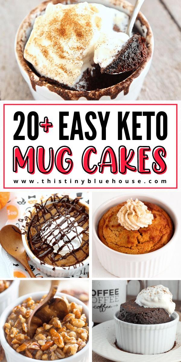 21 Totally Guilt Free Keto Mug Cakes