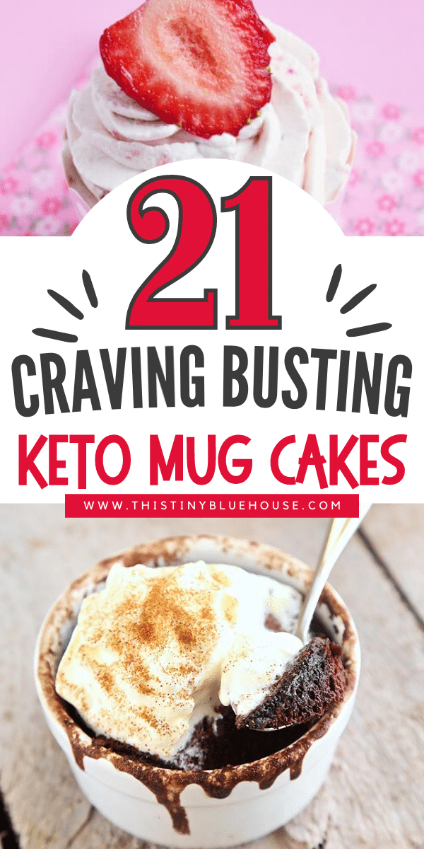 21 Keto Mug Cakes You Need In Your Life