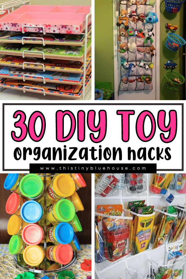 30+ Clever DIY Toy Organization Hacks