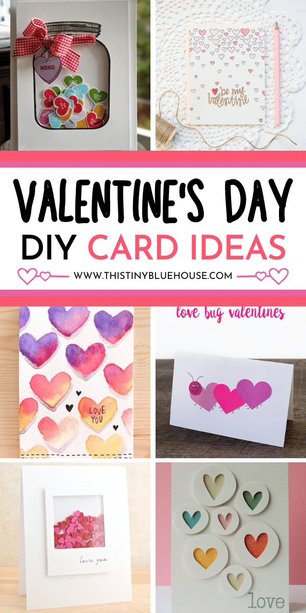 16 Adorable DIY Valentine's Day Card Ideas