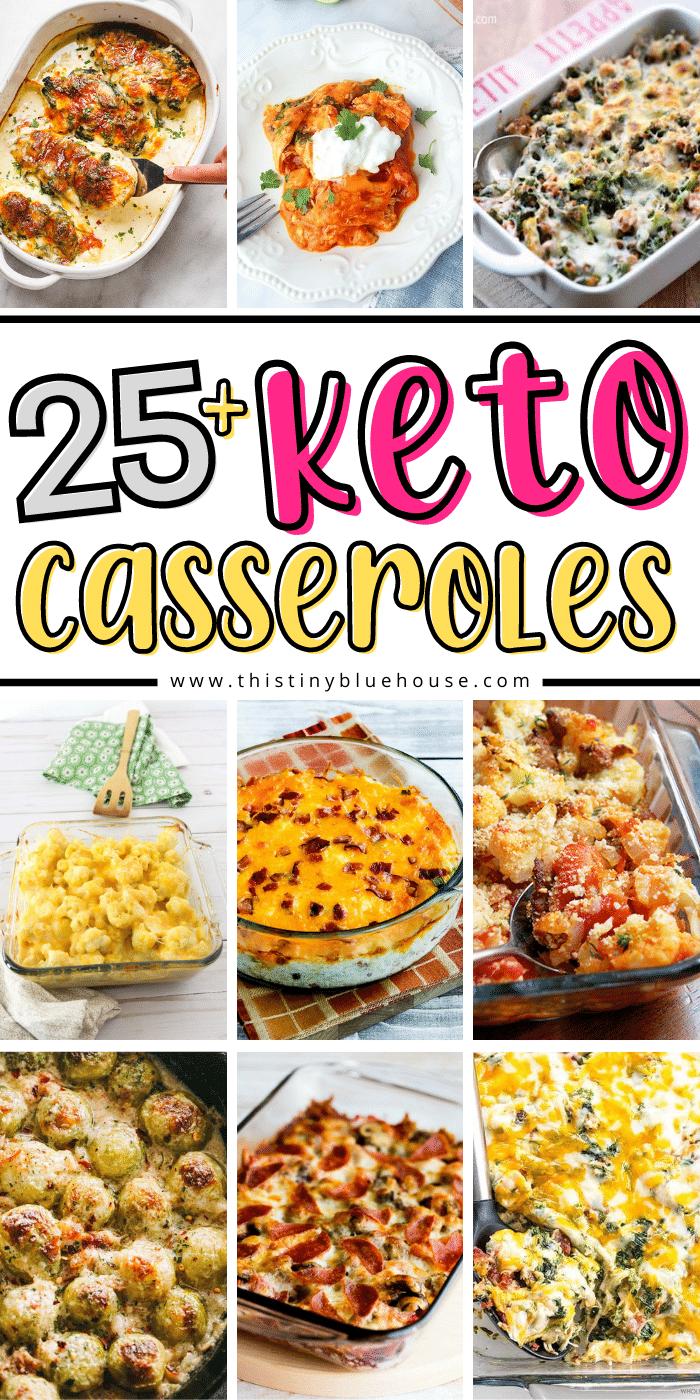25+ Easy and Delicious Keto Casseroles