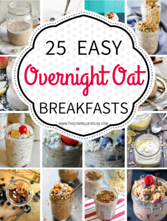 Make breakfast a delicious seamlesspart of of your day with these easy and delicious overnight oats recipes. Prepare them ahead and have breakfast ready and waiting for you all week! #overnightoats #overnightoatshealthy #overnightoatsinjar #overnightoatseasy #overnightoatsrecipe #simpleovernightoats #easyovernightoats