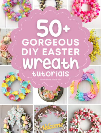 Cute DIY Easter Wreath Tutorials