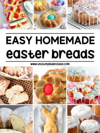 Easy Homemade Easter Breads