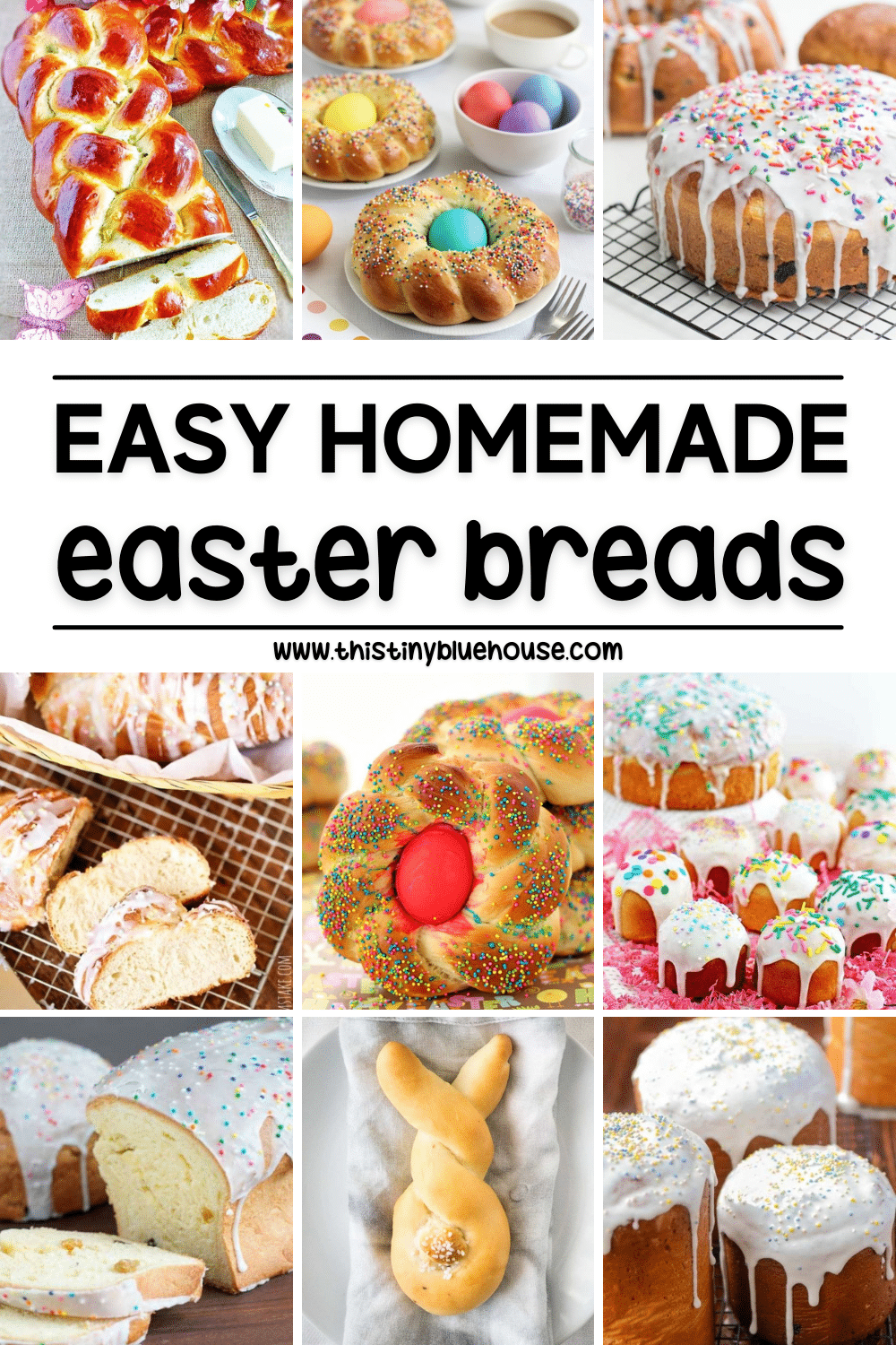 Easy Homemade Easter Breads