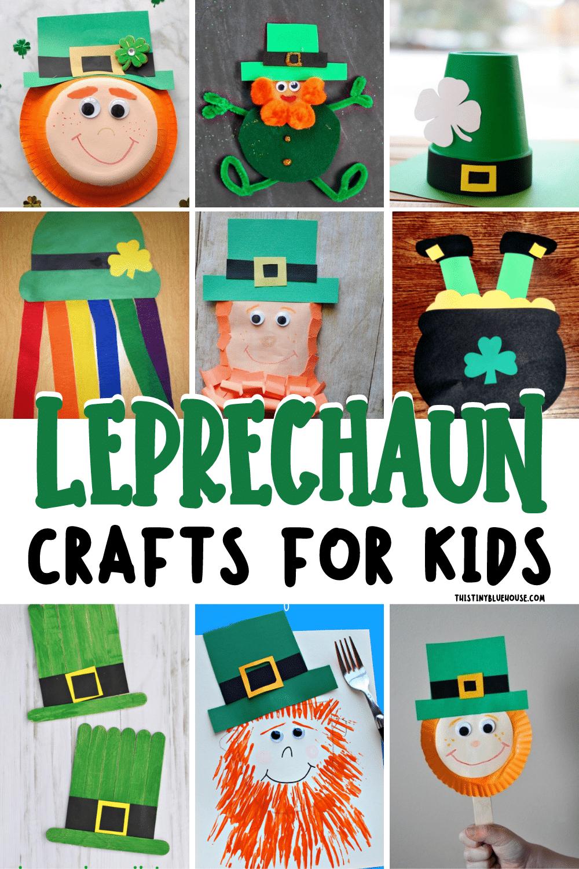 Cute Leprechaun Crafts For Kids