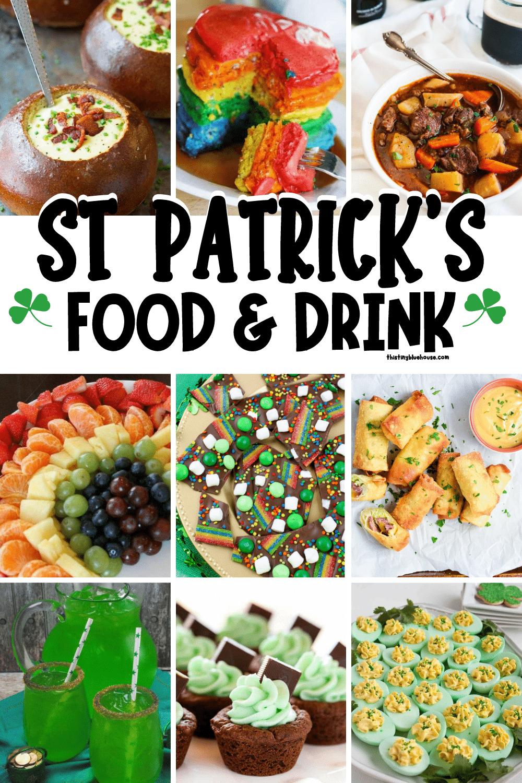 Festive St Patrick's Food & Drink Ideas