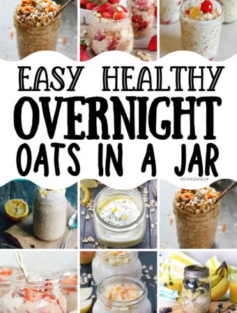 Easy & Healthy Overnight Oats (EASY Breakfast Ideas)