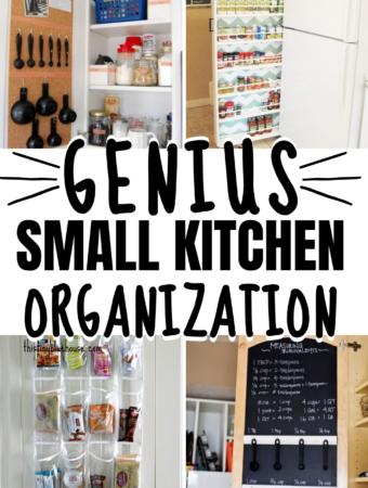 Genius Kitchen Organization Hacks For SMALL Kitchens