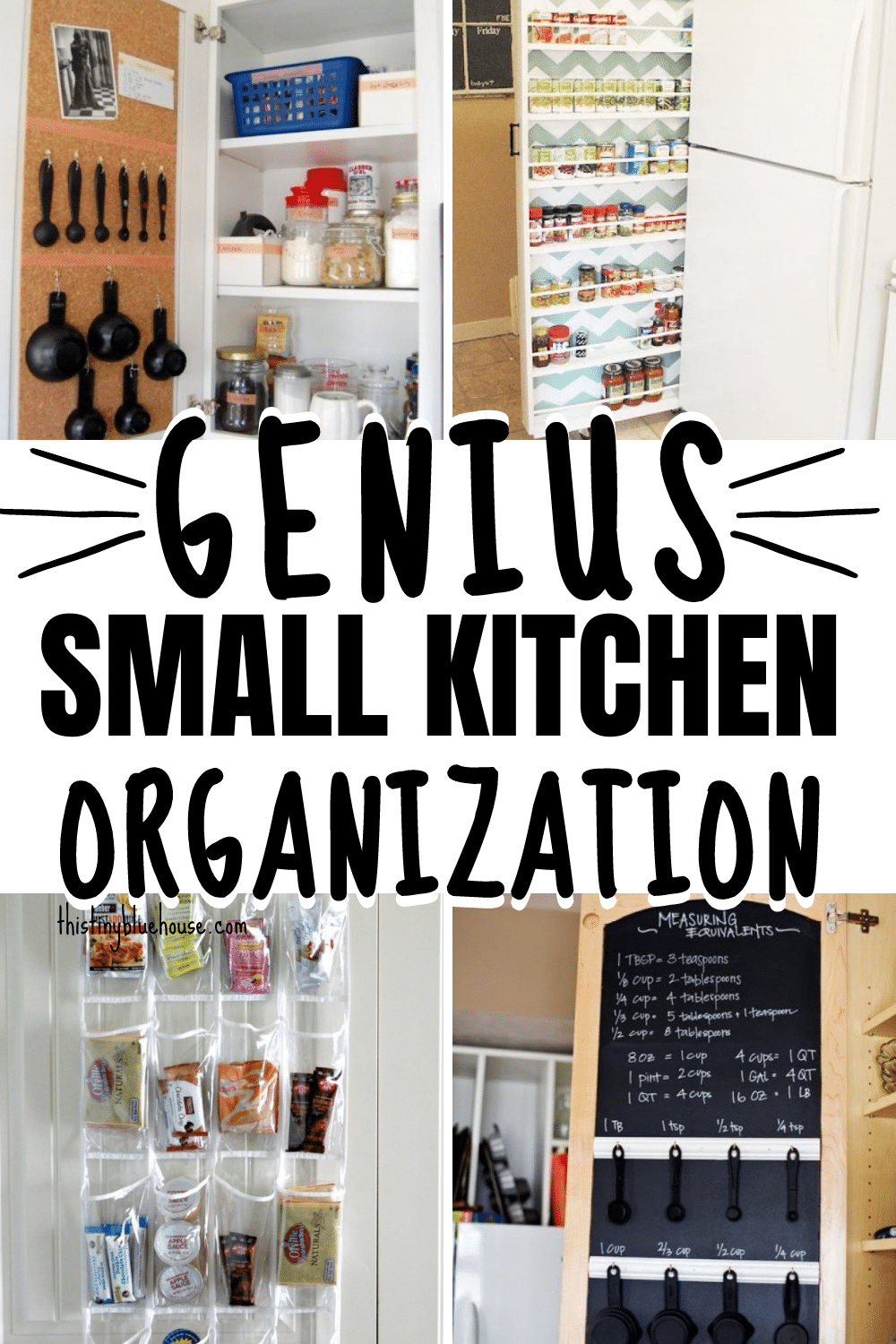 Genius Kitchen Organization Hacks For SMALL Kitchens