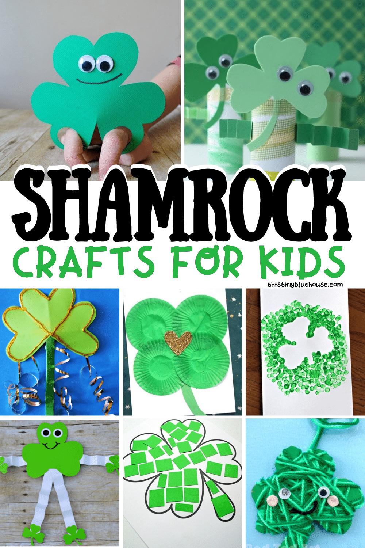 Festive Shamrock Crafts For Kids