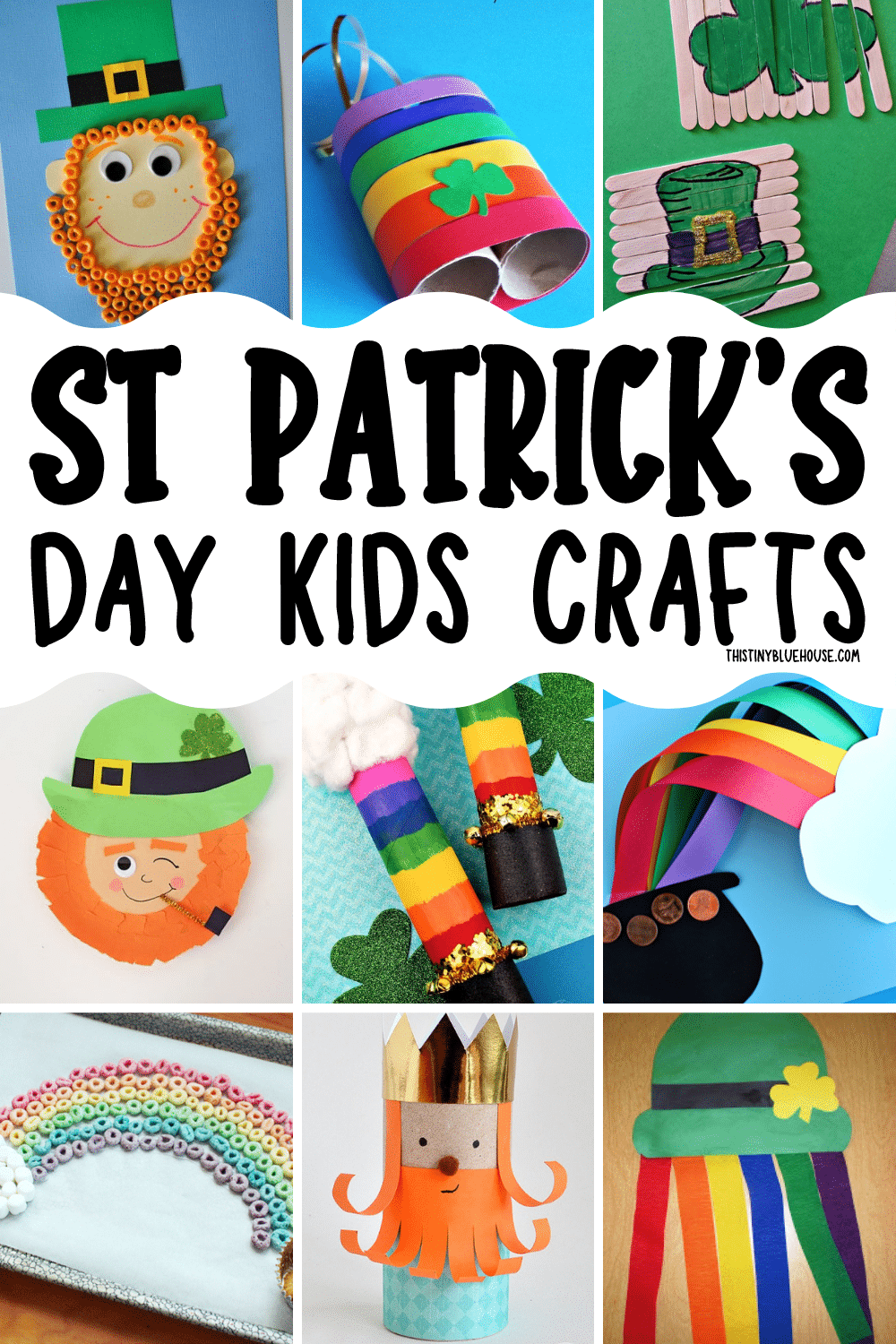The Best MEGA collection of St. Patrick's Day crafts for kids