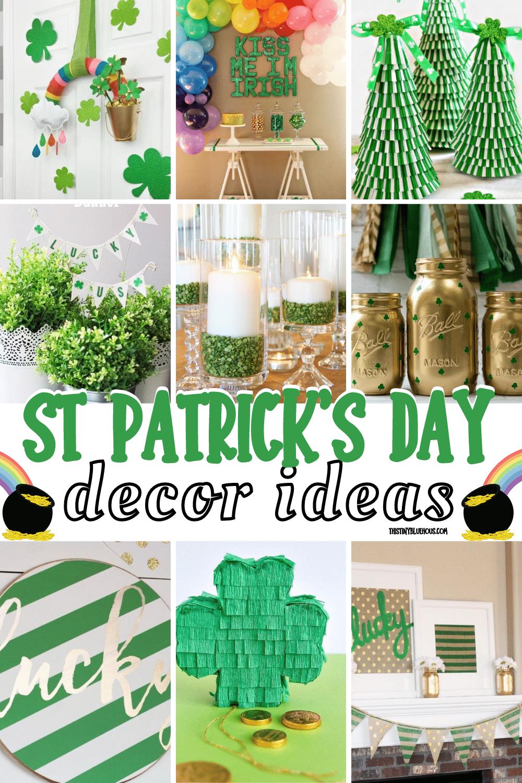 DIY St. Patrick's Day Decor Ideas