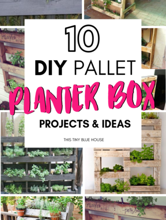 Are you looking for creative fabulous DIY Wood Pallet Planter Boxes? Whether you're interested in planting herbs or veggies these stunning upcycled pallet projects are an innovative way to start growing fresh herbs and veggies from the comfort of your own home. #DIYWoodPalletProjects #DIYWoodPalletProjectsEasy #DIYWoodPalletPlanters #OutdoorWoodPalletPlanters #DIYPlanters #HowToMakeDIYPlanters