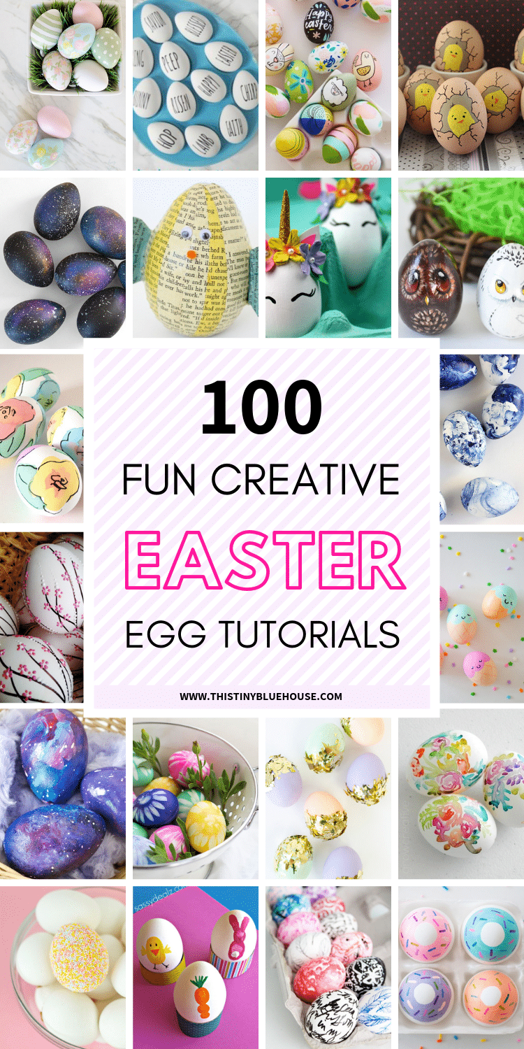 Make Easter extra special this year by decorating your home with one or many of these gorgeous best creative painted Easter egg tutorials. #paintedeggs #paintedeggsidea #paintedeastereggs #diyeastereggs #eastereggshowto