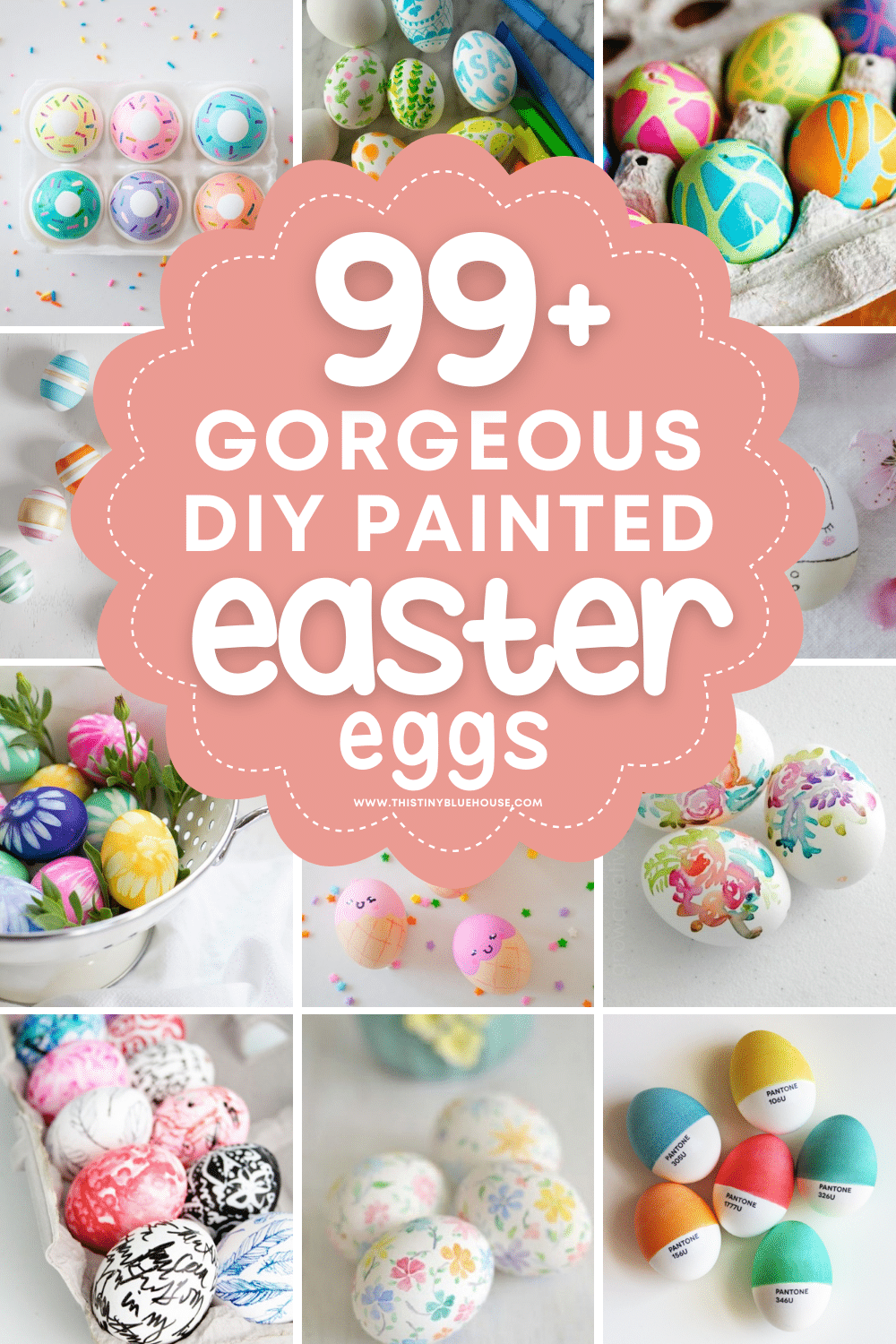 99+ Cute & Easy Ways To Paint Easter Eggs