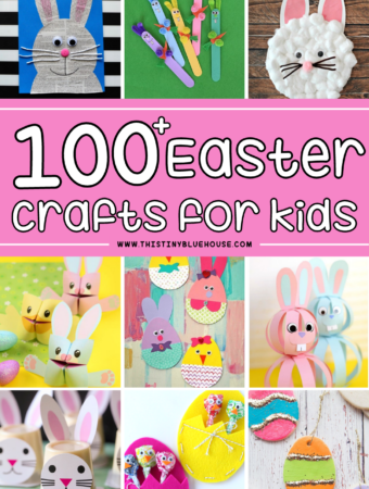 100+ Easter Crafts For Kids (Quick & Easy using basic supplies)