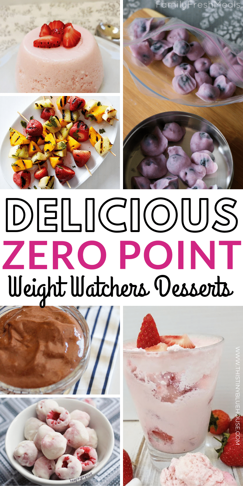 Here are 30 delicious and easy zero point Zero Point Weight Watcher's Desserts that are a perfect way to end a meal or indulge in a guilt free snack. These guilt free Weight Watcher's Dessert ideas are great for anyone using the Weight Watchers program. #weightwatchers #weightwatchersdesserts #zeropointsweightwatchers #zeropointweightwatchersdesserts #zeropointweightwatchersfood #weightwatchersforfree #zeropointweightwatcherstreats
