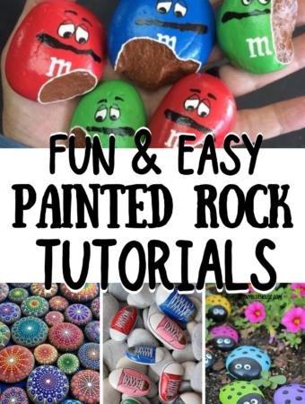 Fun & Easy Painted Rock Tutorials