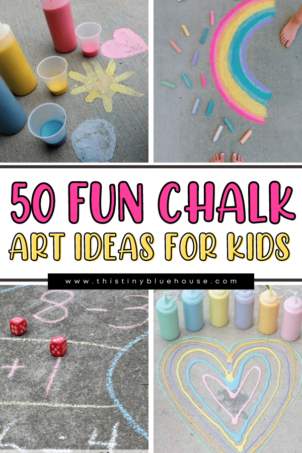 50 Fun Creative Chalk Art Ideas For Kids
