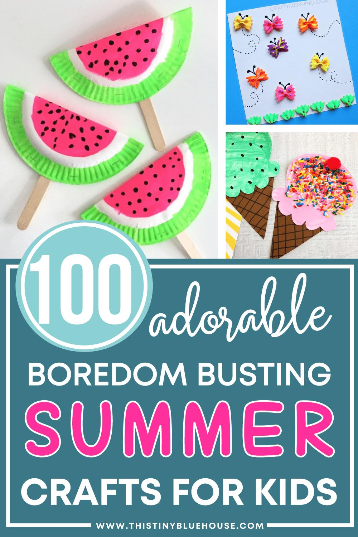 summer crafts for preschoolers