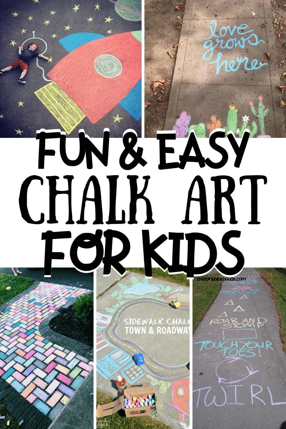 Fun & Easy Chalk Art For Kids