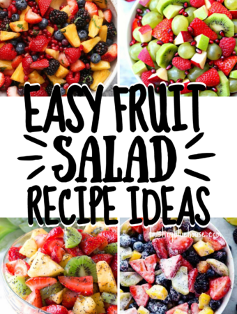 Fresh & Easy Fruit Salad Recipe Ideas