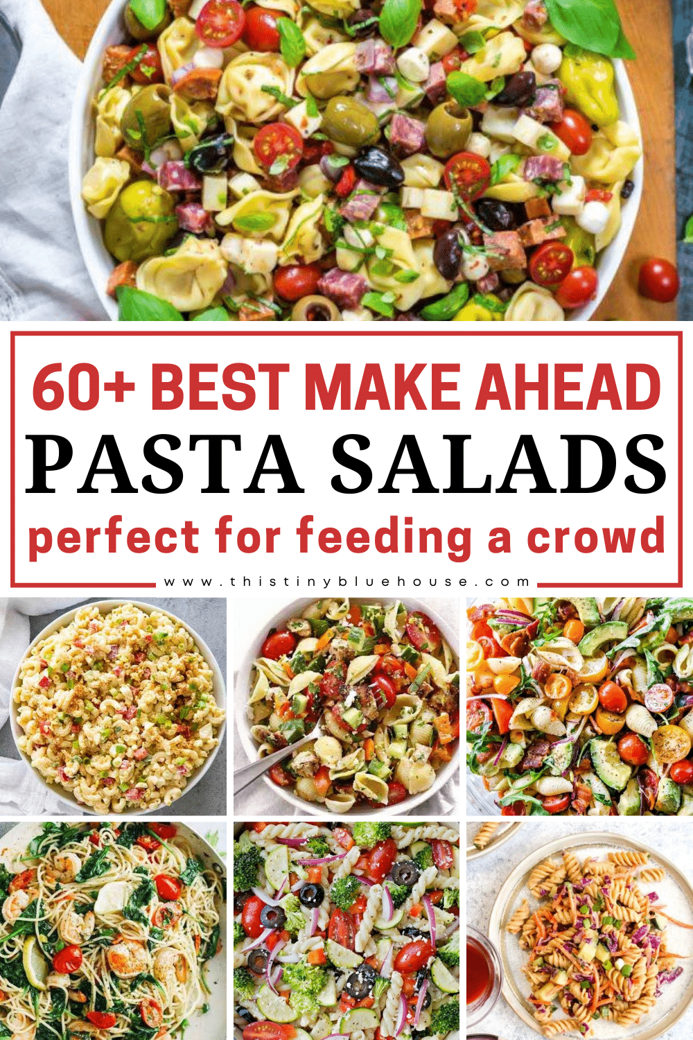 60+ Best Make Ahead Pasta Salads Perfect For Feeding A Crowd
