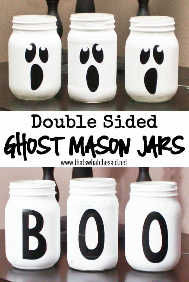 50 Best Spooky Diy Halloween Mason Jars This Tiny Blue House