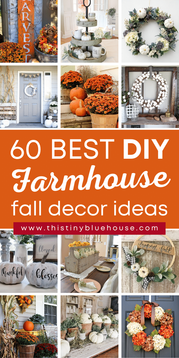 60 DIY Fall Farmhouse Decor Ideas