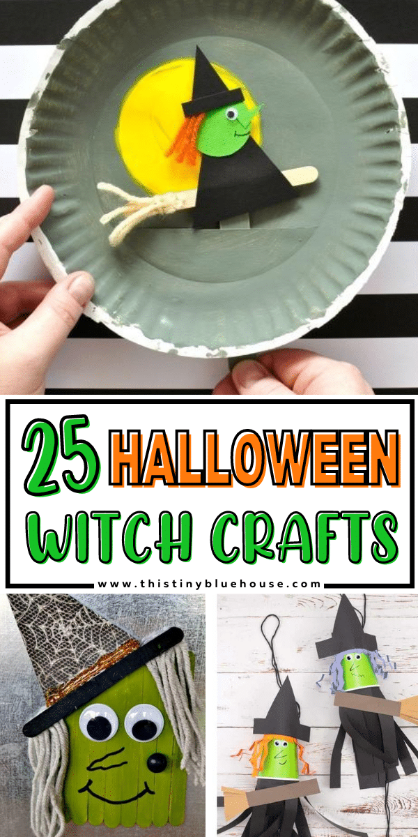 25 Best Non Scary Halloween Witch Crafts