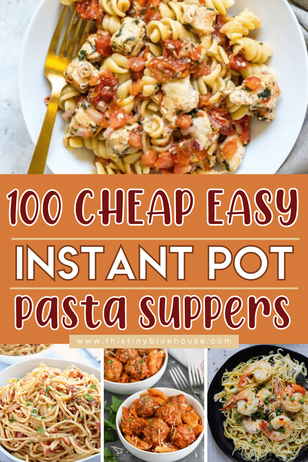100 Cheap Easy Instant Pot Pasta Recipes