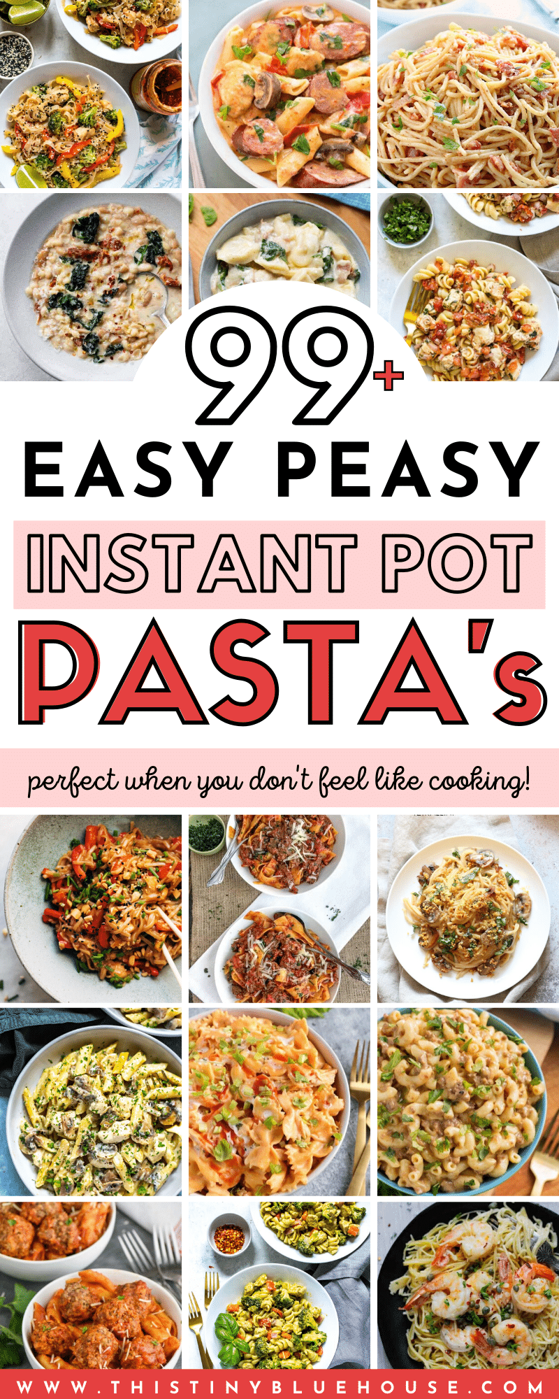 Get dinner on the table in a flash with these stupid easy and insanely delicious Instant Pot Pasta Dinners. These easy hands off dinners are a great way to get delicious comfort on the table with literally no effort. #instantpotpasta #instantpotpastarecipes #instantpotpastanoodles #instantpotpastarecipeseasy #inistantpotpasteasy #bestinstantpotpasta #simpleinstantpotpasta #instantpotpastadinners