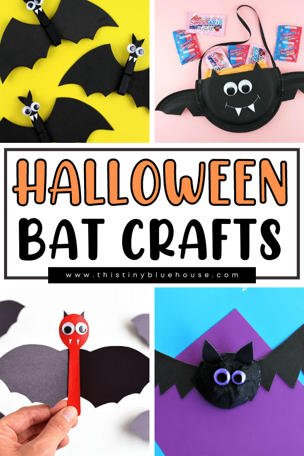 25 Non Scary Cute Bat Crafts For Halloween