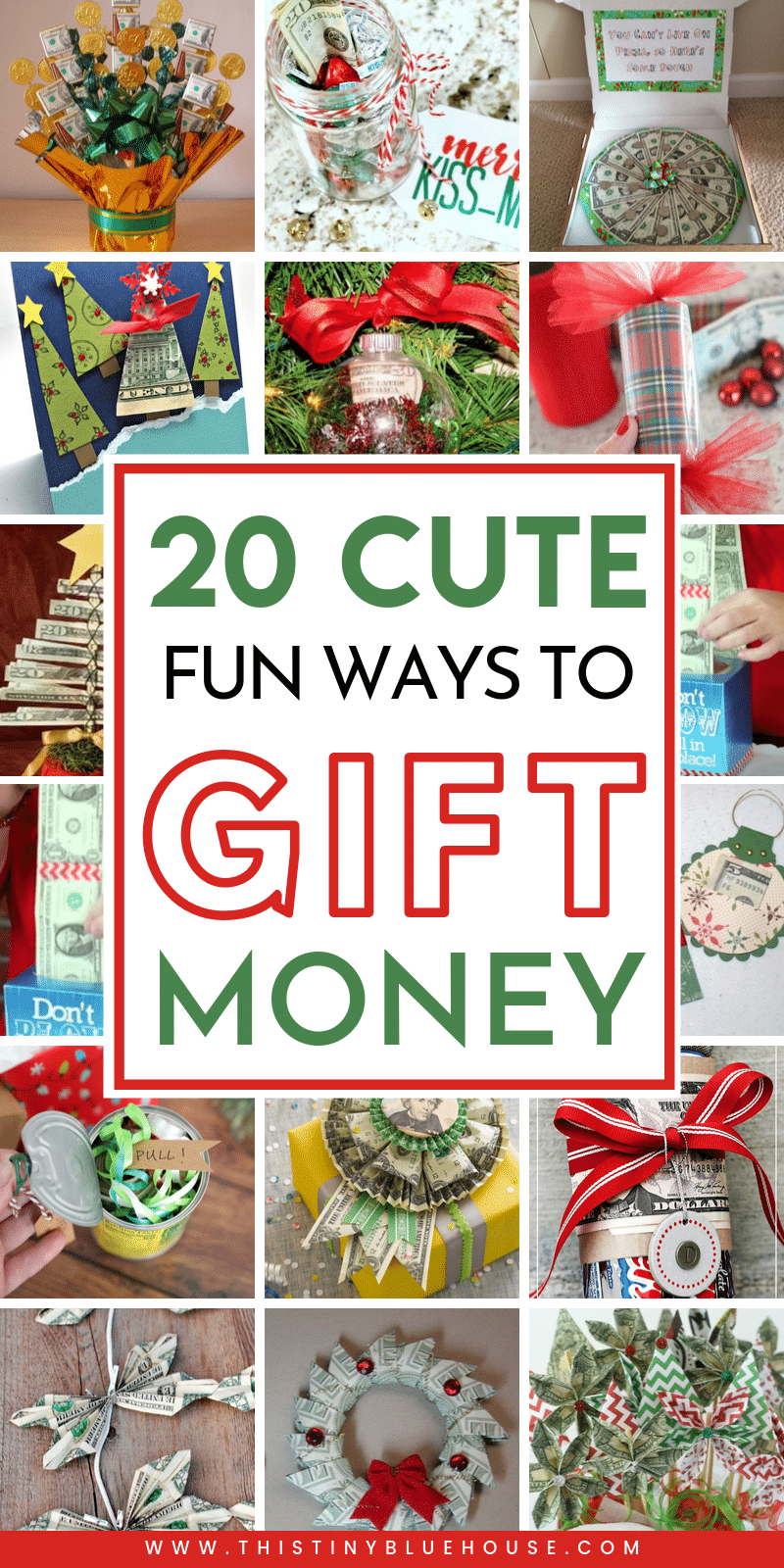 21 Best Creative Unique Christmas Money Gifts This Tiny Blue House