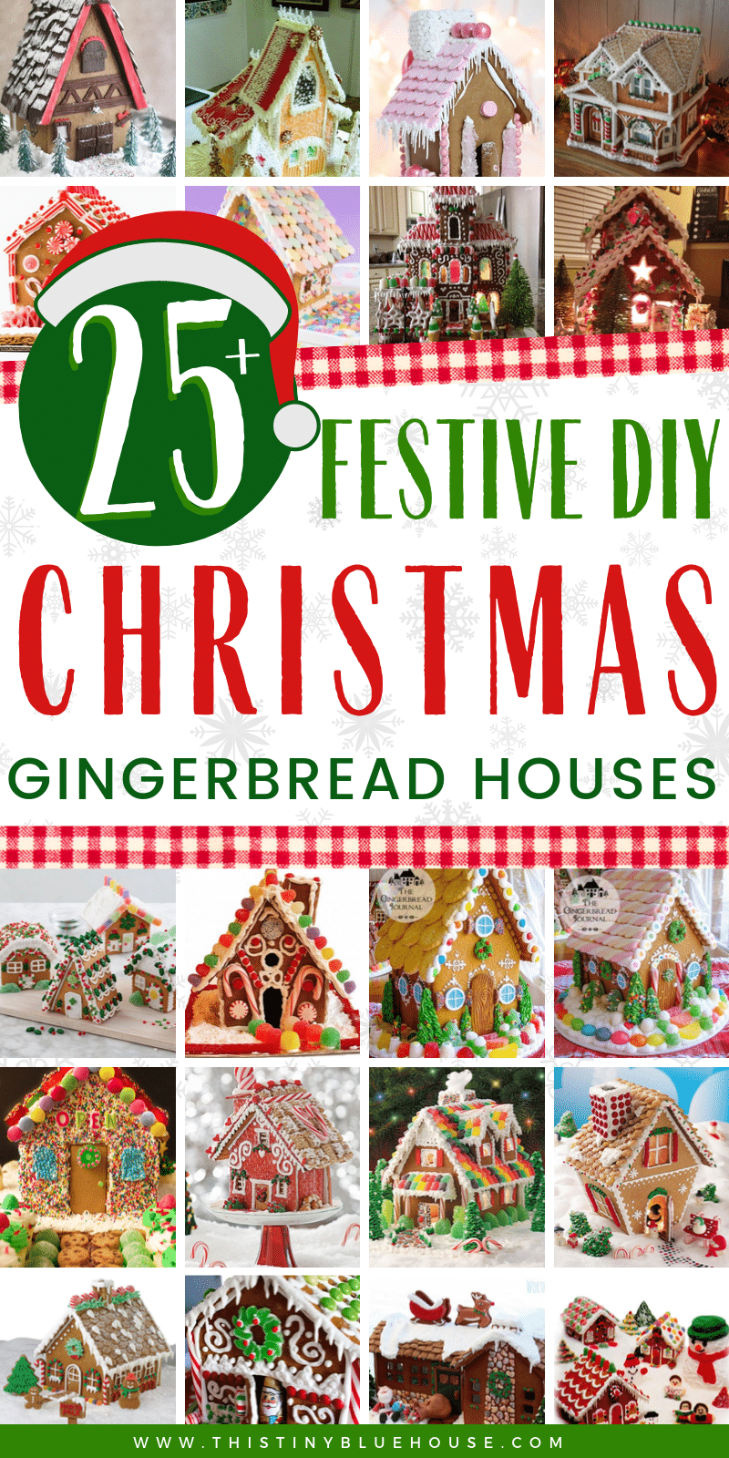 Are you looking for some best Christmas Gingerbread houses? Here are over 25 adorable Gingerbread houses that are the perfect inspiration for your own gingerbread house creation this holiday season. #gingerbreadhouseideas #gingerbreadhousesdiy #gingerbreadhousedecorating #gingerbreadhouseamazing #gingerbreadhouseschristmas