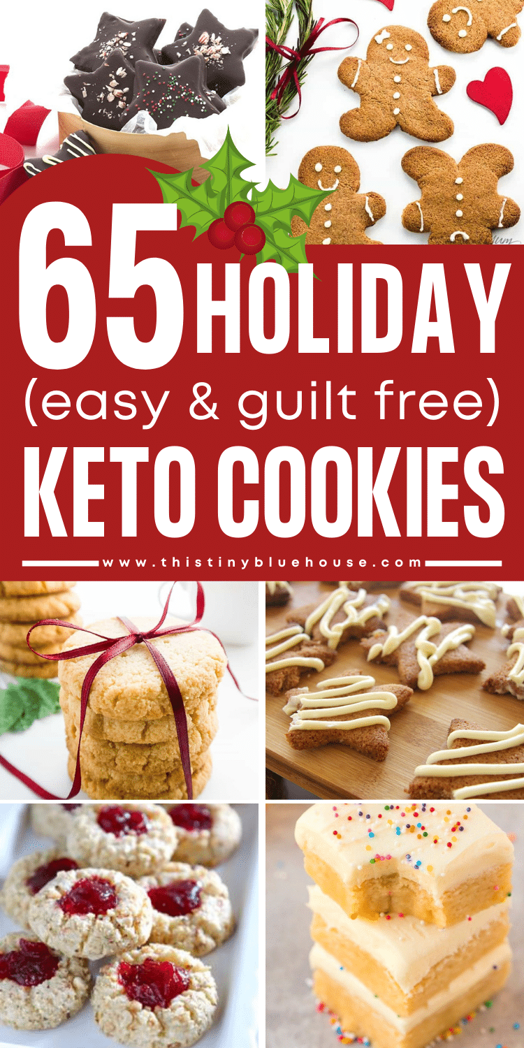 65+ Delicious (Guilt Free) Keto Holiday Cookies