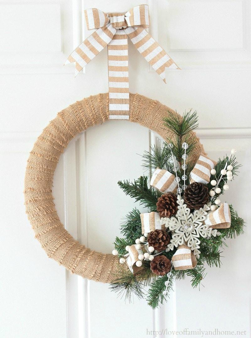 100 Best Cheap Diy Christmas Wreaths This Tiny Blue House