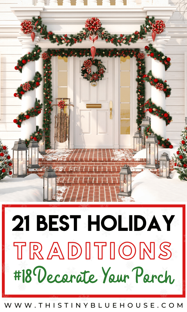 Build holiday spirit with these BEST family holiday traditions you gotta try this December. From baking cookies to DIYing your own gifts this list of family friendly traditions are a guarnateed hit this holiday season. #ChristmasTraditions #ChristmasTraditionsForCouples #ChristmasTraditionsFamily #ChristmasTraditionsKids #ChristmasTraditionsToStart #ChristmasTraditionsEasy #ChristmasTraditionsList #ChristmasTraditionsBucketList
