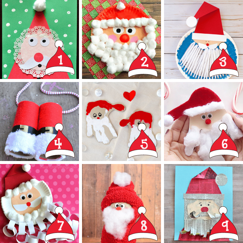 Here is the ultimate BEST collection of fun festive Christmas Crafts for kids. This massive collection of over 300 fun holiday crafts for kids includes everything from Santa crafts to candy cane crafts and much much more. #ChristmasCrafts #ChristmasCraftsForKids #EasyChristmasCraftsForKids #ChristmasCraftsforToddlers #ChristmasCraftsForPreschoolers #ChristmasCraftF