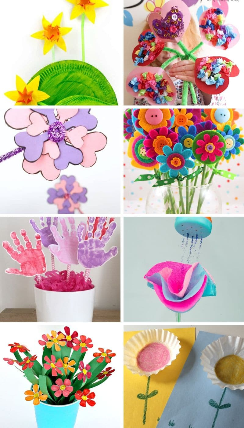 Help the kids welcome spring with these Best Spring Crafts For Kids. This MEGA post includes over 300 super fun and easy crafts to make this spring.