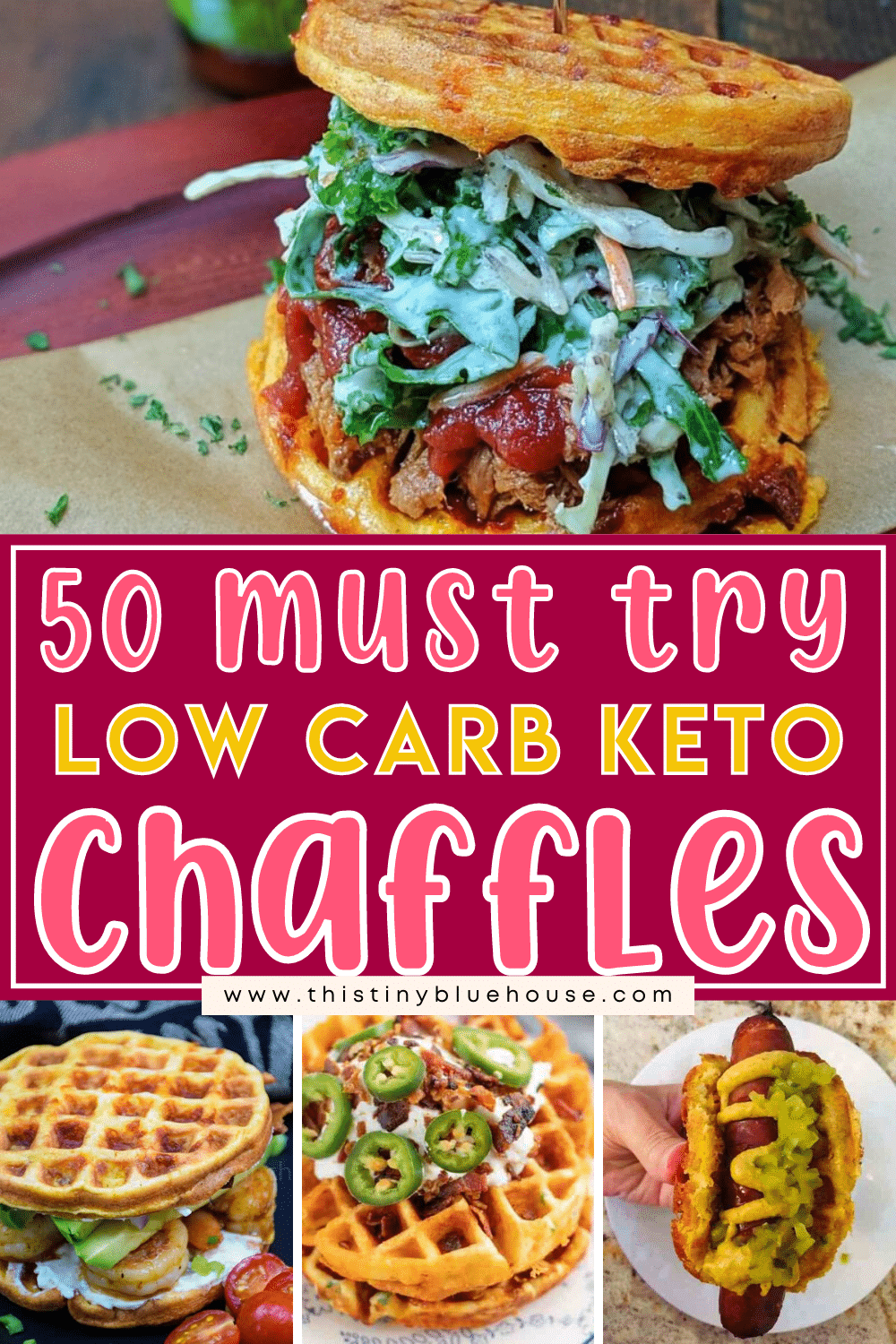 50 beyond delicious Keto Chaffle Recipes
