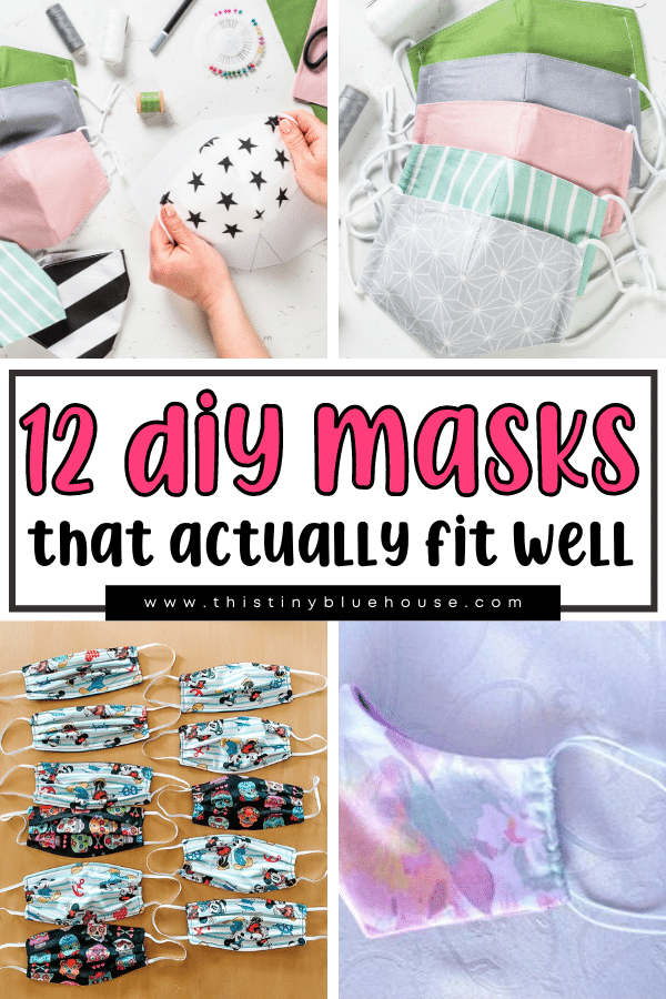 Here are 12 best easy DIY face mask tutorials to help you stay safe. You'll find sew and no sew tutorials that use materials you likely already have at home.
