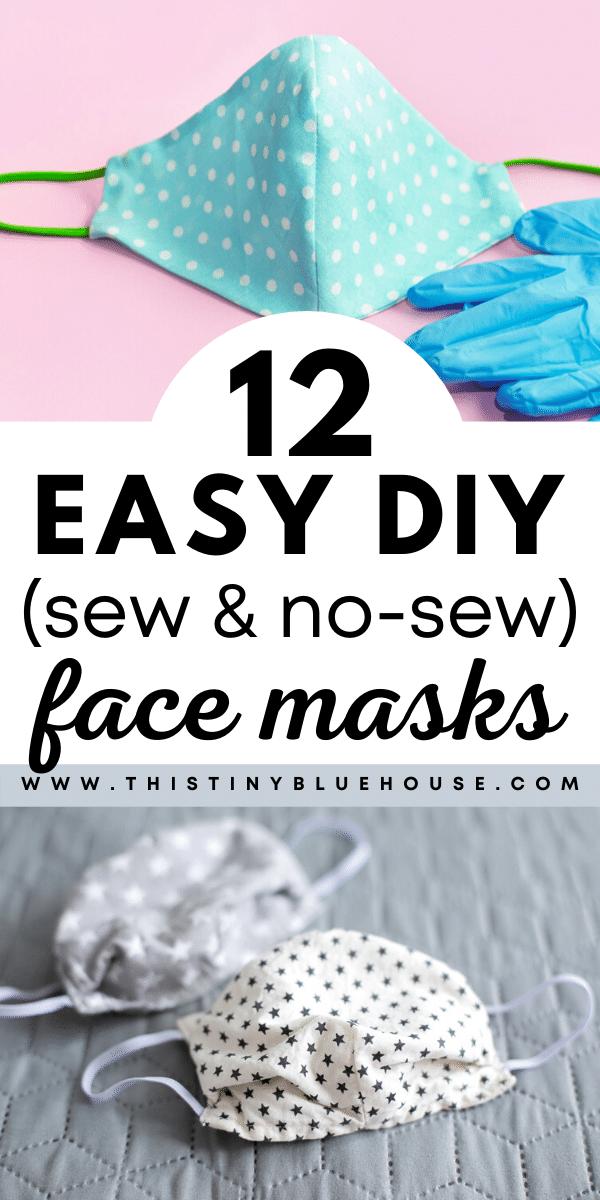 12 Best Easy Diy Face Mask Tutorials
