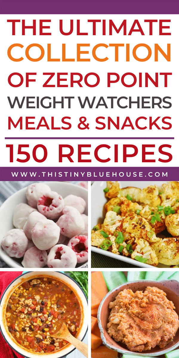 150+ ZERO point Weight Watchers Recipes