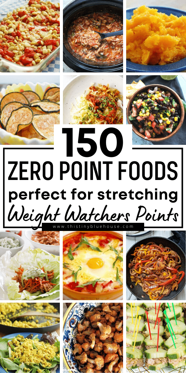 150 Easy & Filling Zero Point Weight Watchers Recipes