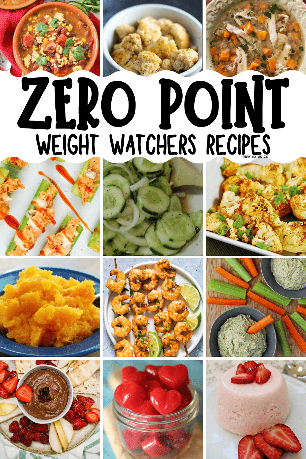 100+ Zero Point WW Foods (A MUST FOR ANYONE ON WW)