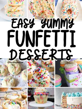 Easy Yummy Funfetti Desserts