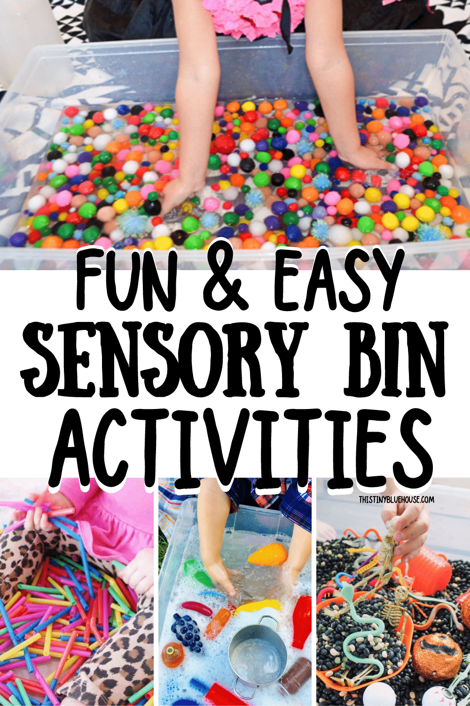 Screen Free Sensory Bin Play For Kids